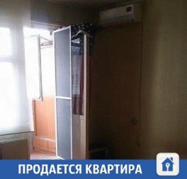 Однокомнатная квартира с просторным балконом продается в Краснодаре