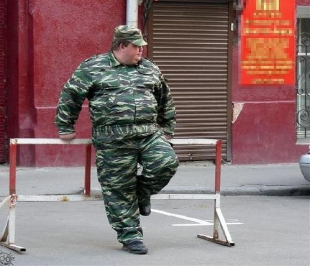 Ожиревшим краснодарцам в армии не найдется места