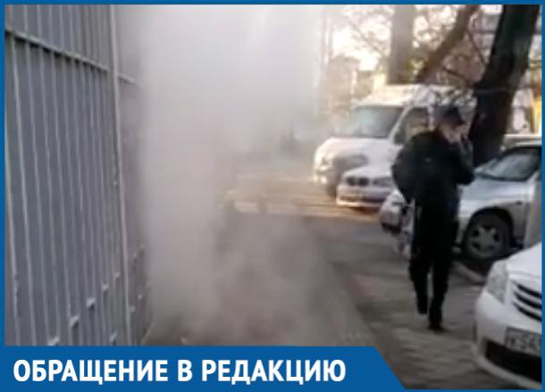 Едкие пары «инфекционки» напугали жителей Краснодара