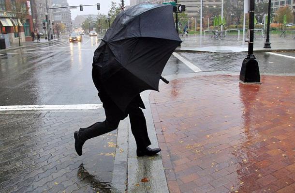 Погода на Кубани сегодня будет дождливой и ветренной