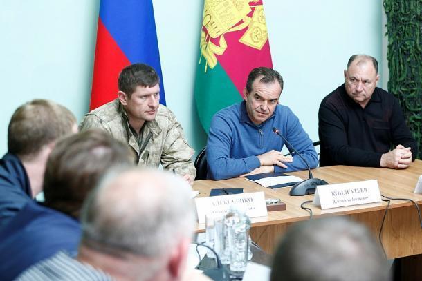 Вениамин Кондратьева: временным жильем должны быть обеспечены пострадавшие от наводнения на Кубани