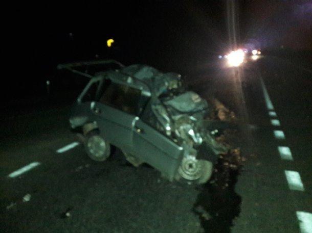 Водитель легковушки лоб в лоб врезался в многотонную фуру в Абинском районе