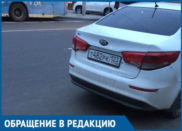 Частник потребовал с краснодарцев 2000 рублей за поездку по городу