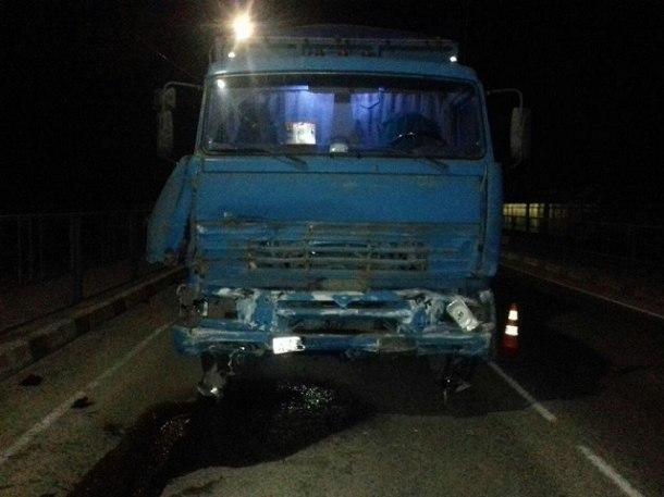 Один человек погиб в ДТП с «КамАЗом» в Кавказском районе