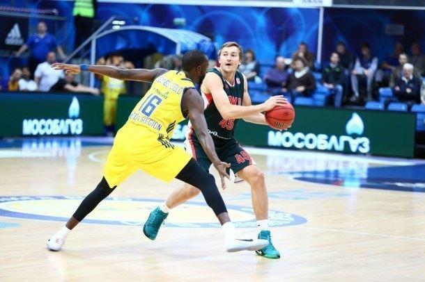 «Локомотив-Кубань» проиграл второй матч подряд в Единой Лиге ВТБ