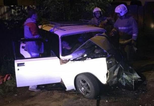 Пьяного водителя «Семерки» госпитализировали после ДТП в Краснодаре
