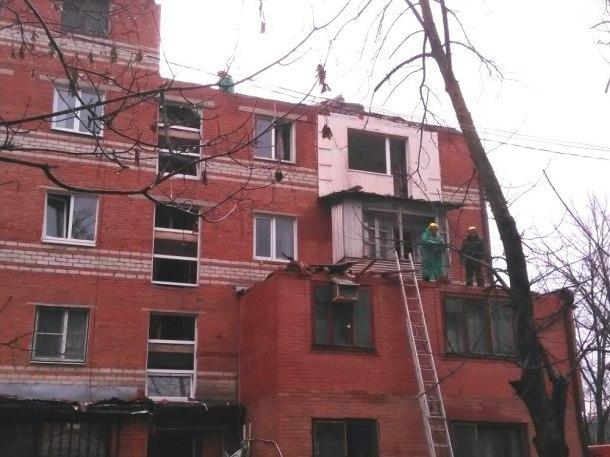 Жильцам разрушенного взрывом дома в Краснодаре разрешили забрать свои вещи