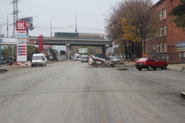 Первый участок улицы Новороссийской в Краснодаре заасфальтировали