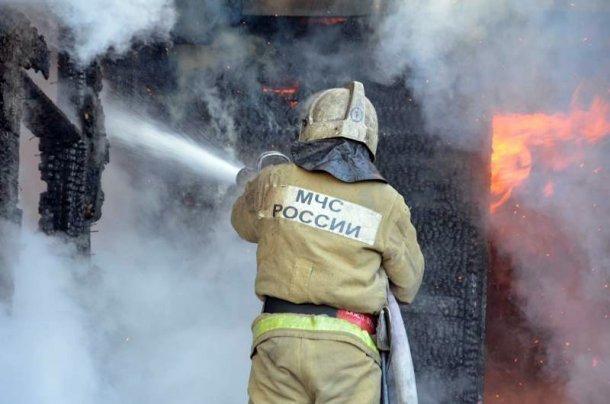 ВСочи в личном доме произошел пожар площадью 100 кв. метров