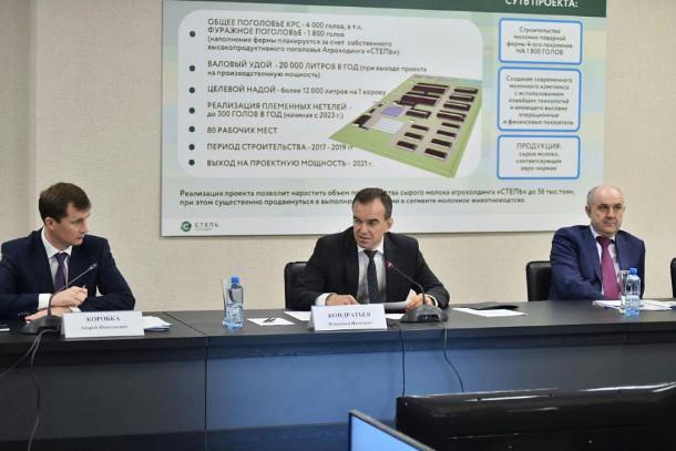 Кондратьев поставил новые задачи фермерам к 2030 году
