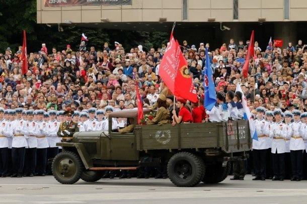 Парад Победы в Краснодаре: как это было