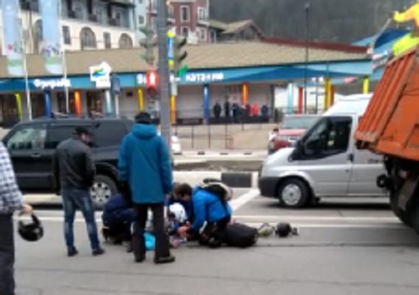 Очевидец ДТП с участием «КамАЗа» в Сочи винит администрацию в отключении светофоров