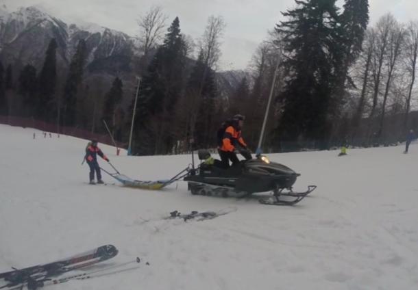 Больше 40 лыжников пострадали в Сочи на новогодних каникулах