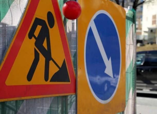 В центре Краснодара частично перекрыли улицу