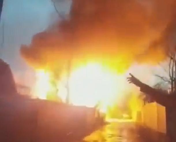 Хозяина сгоревшего под Краснодаром дома увезли в больницу