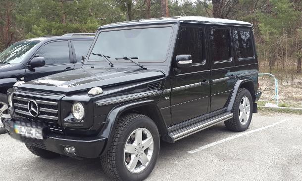 Часть элитных «Геликов» от Mercedes отзывают из Краснодарского края