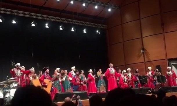 Кубанский казачий хор дал концерт в Милане