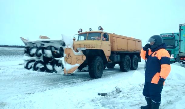 Дороги Кубани отчистили от снега, движение восстановлено