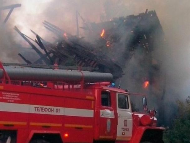 ВКраснодаре при серьезном пожаре пострадал человек