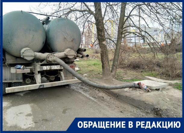 «Черные ассенизаторы» из соседнего региона сливают фекалии в канализацию Краснодара