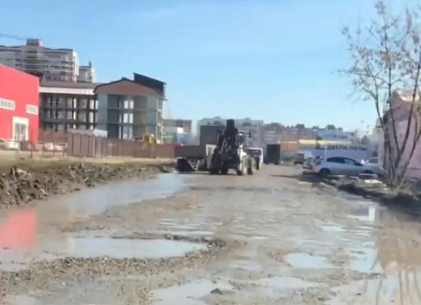 «Отремонтированная» дорога в Краснодаре неприятно удивила водителей