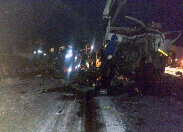Двое кубанцев погибли в массовом ДТП на Урале