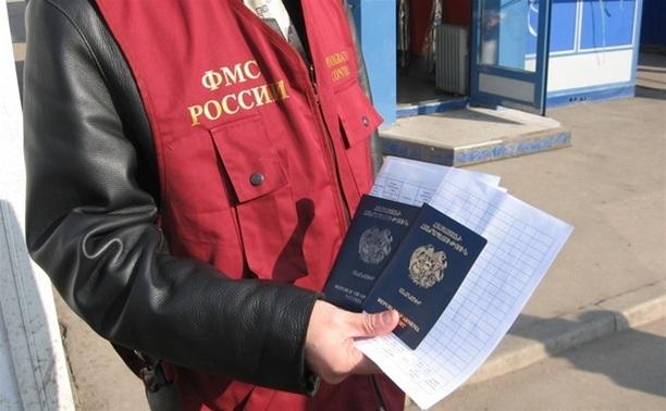 Автобус из Краснодара с 16-ти нелегалами задержали под Волгоградом