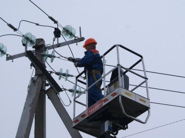 НаКубани стихия снова повлияла наподачу электрической энергии