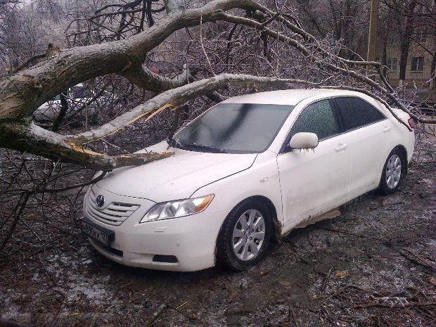 Очередные «ледяные дожди» пришли в Краснодарский край