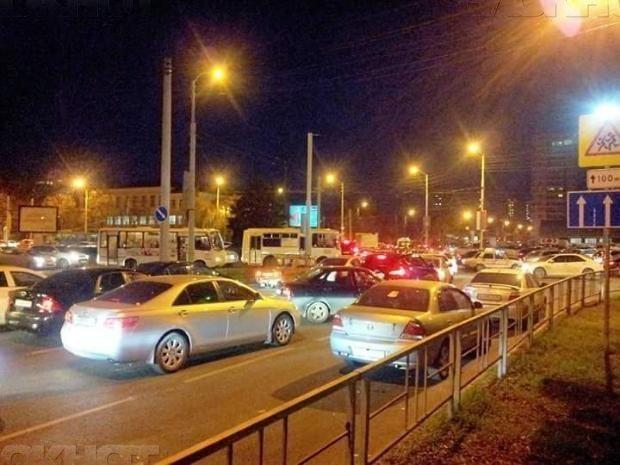 «Топ-5» пробок недели в Краснодаре представил «Яндекс»