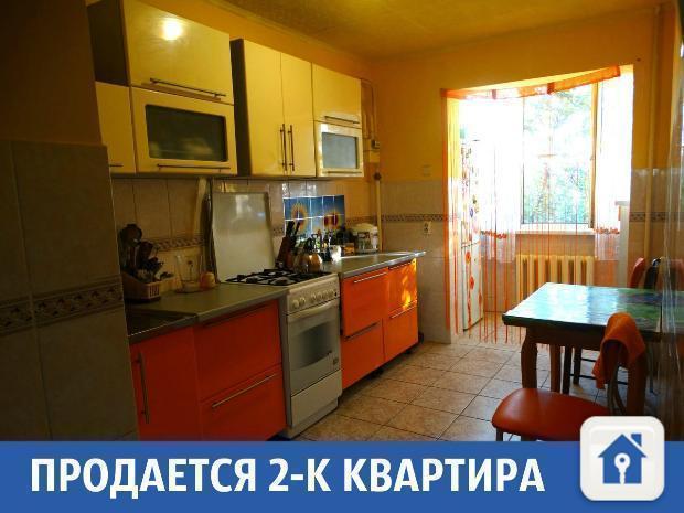 Очередная двухкомнатная квартира продается в Краснодаре