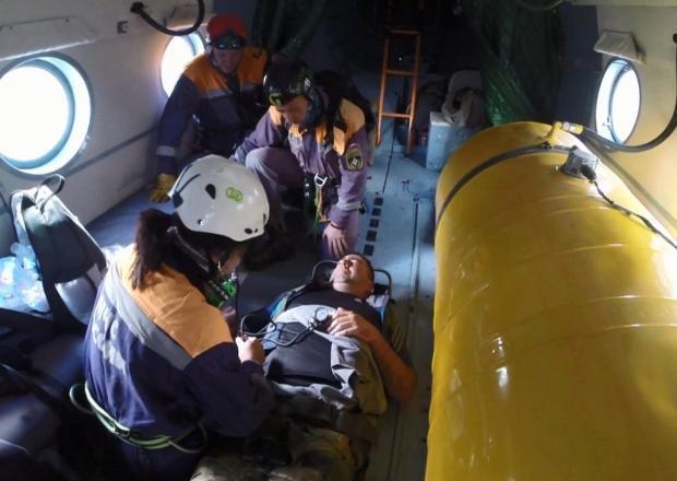 Мужчину с подозрением на инсульт эвакуировали в горах Сочи