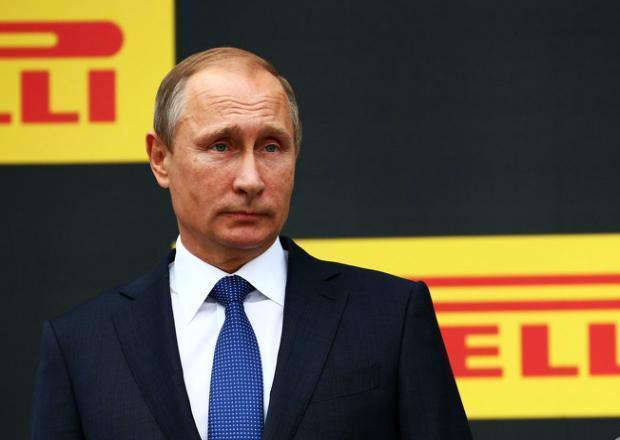 Владимир Путин посетил «Формулу-1» в Сочи
