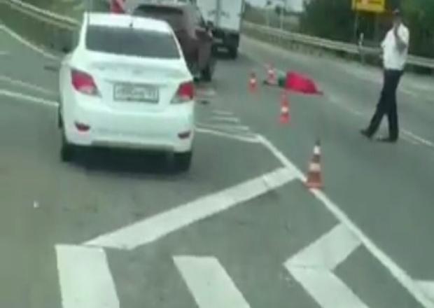Автобус насмерть сбил женщину на Кубани