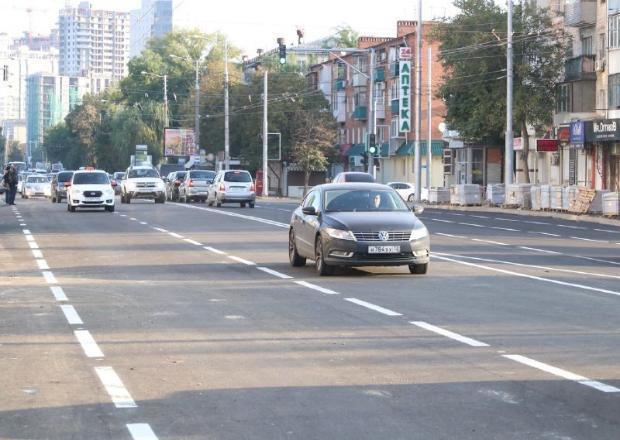 В Краснодаре отремонтировали 59 участков дорог