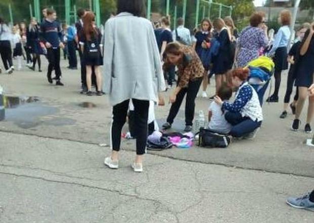 В краснодарской школе №35 распылили газовый баллончик: пострадали дети