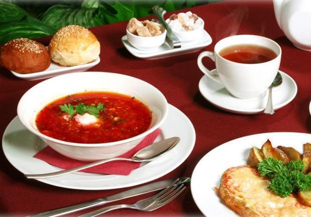 Европейская кухня — основа питания жителей Краснодара