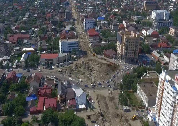На месяц закроют еще одну транспортную артерию в Краснодаре