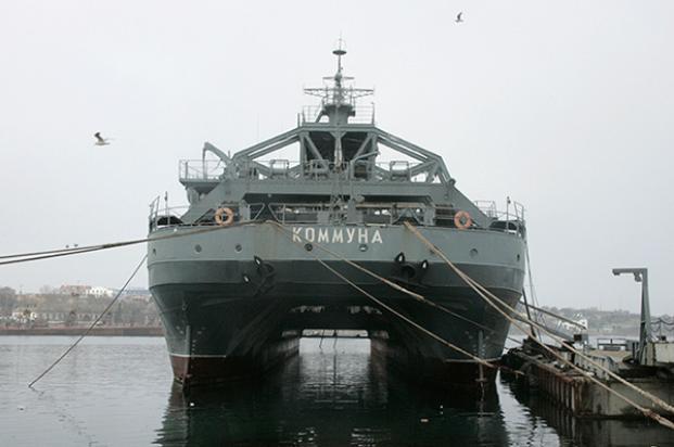 Самое старое в мире: в Краснодарский край прибыло судно, которому 106 лет