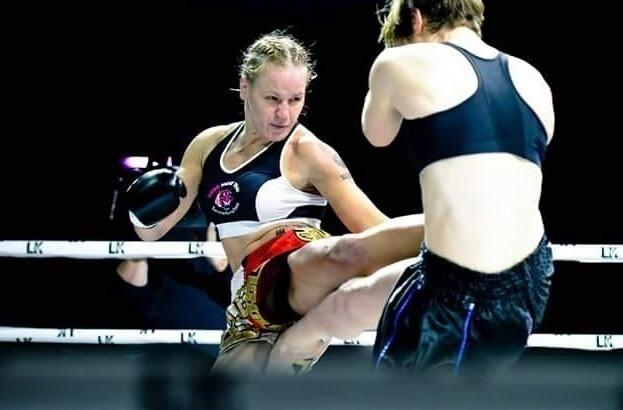 Сочинская кикбоксерша одержала победу над американской чемпионкой