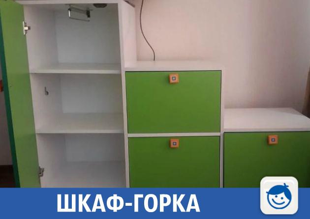 Удобный шкаф для детских вещей продают в краевой столице