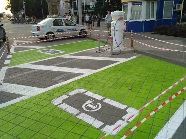 ВКраснодаре появится первая вкрае станция для зарядки электромобилей