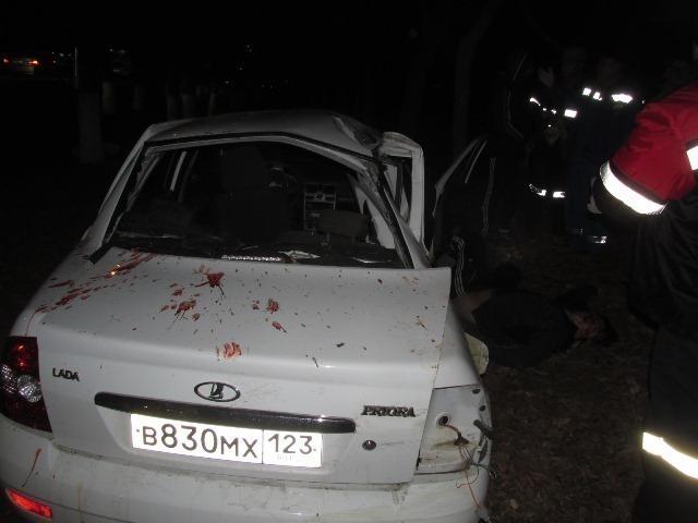 В Армавире по вине неопытного водителя погиб пассажир