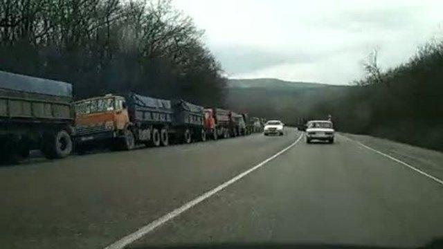 Путь заказан: под Новороссийском перекроют дорогу большегрузам