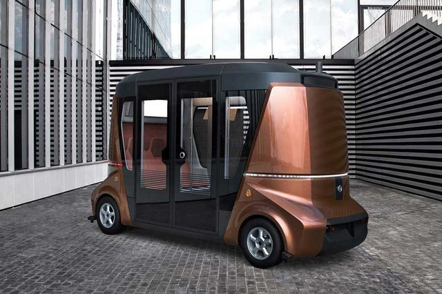В Сочи запустят в производство беспилотный автобус «Матрешка», стоимостью 8.5 миллионов