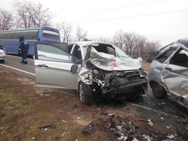 На Кубани водитель «Лады» разбился насмерть