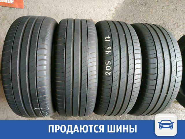 Продается комплект шин Michelin