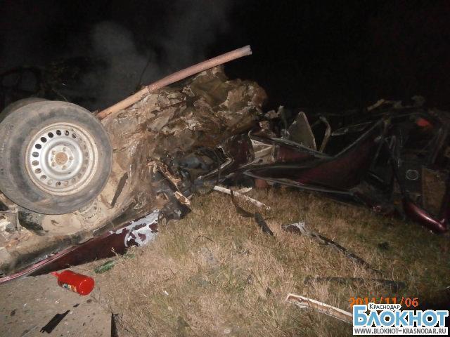 В Краснодарском крае в аварии погибли три человека