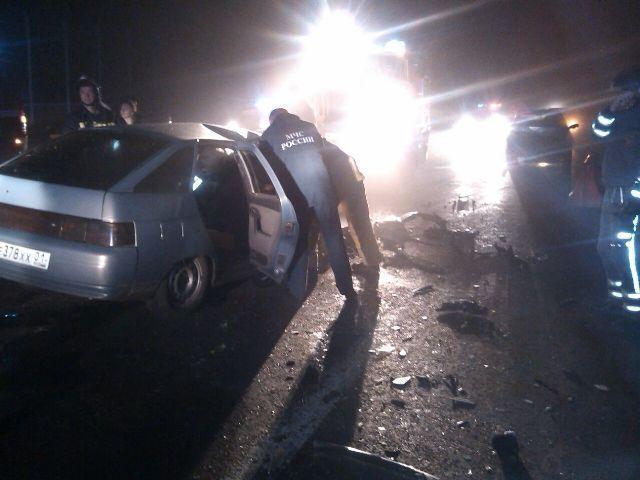 В Краснодаре в ДТП погиб один человек и два были травмированы