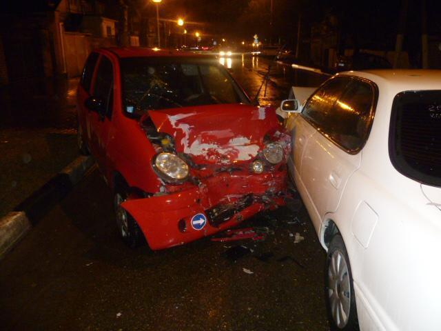 В Геленджике при столкновении иномарок пострадало три человека